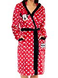 Disney Bata para Mujer Minnie Mouse Rojo X-Large