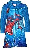 Marvel HS2055 Spiderman - Albornoz para niño (Forro Polar) Azul Azul 8 años