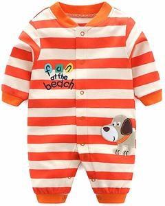 pijama bebe rayitas