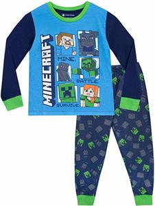pijama minecraft
