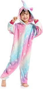 pijama franela unicornio