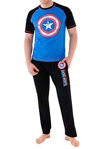 pijama capitan america hombre